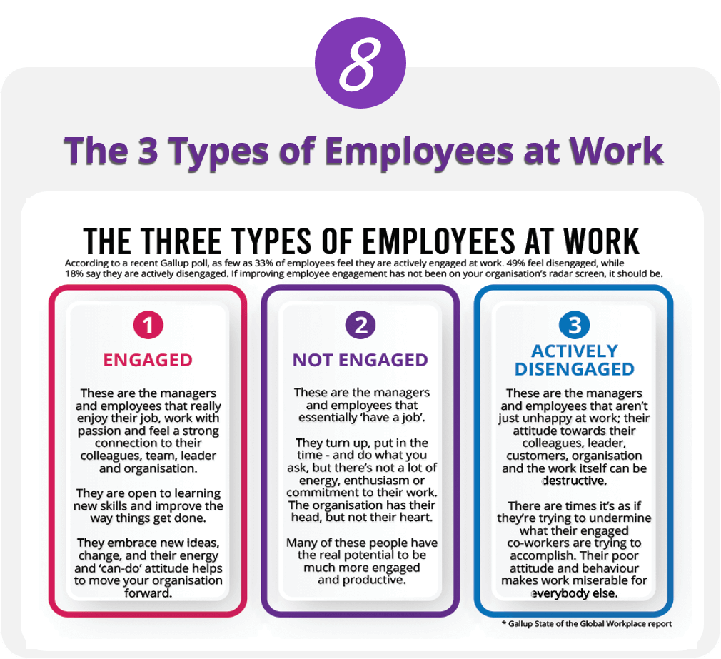The 3 Types of Employees at Work